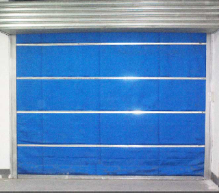 Inorganic Fabric Fire Shutter Door